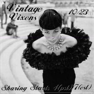 Accessories - FRIDAY 10/23 Vintage Vixens Sign Up Sheet